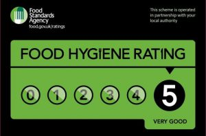 Food Hygiene Rating of 5 at Plas Y Bryn