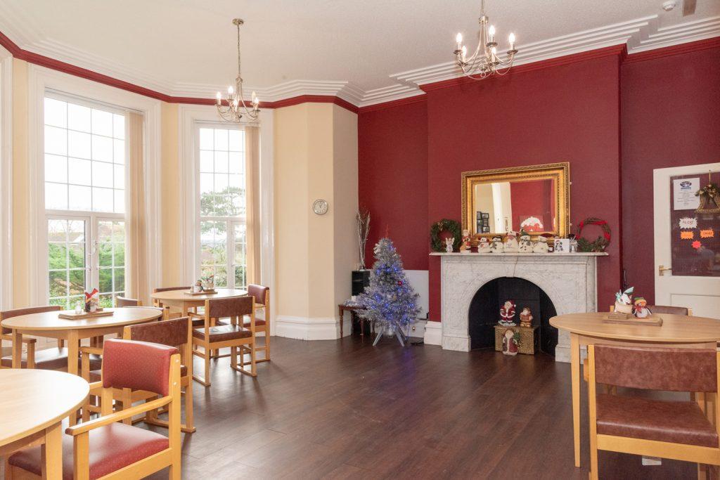 Dining Room at Plas Y Bryn
