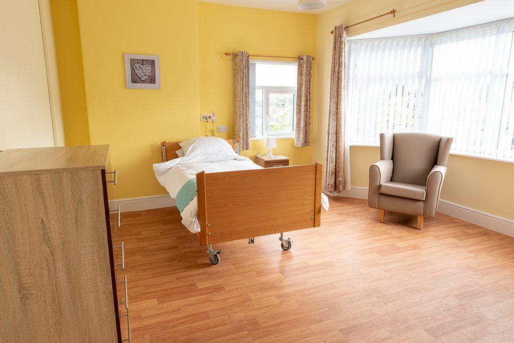 Room at Plas Isaf