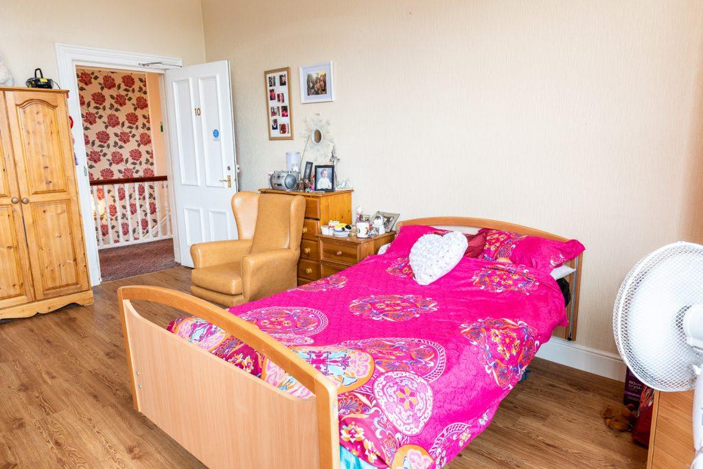Bedroom at Plas Y Bryn