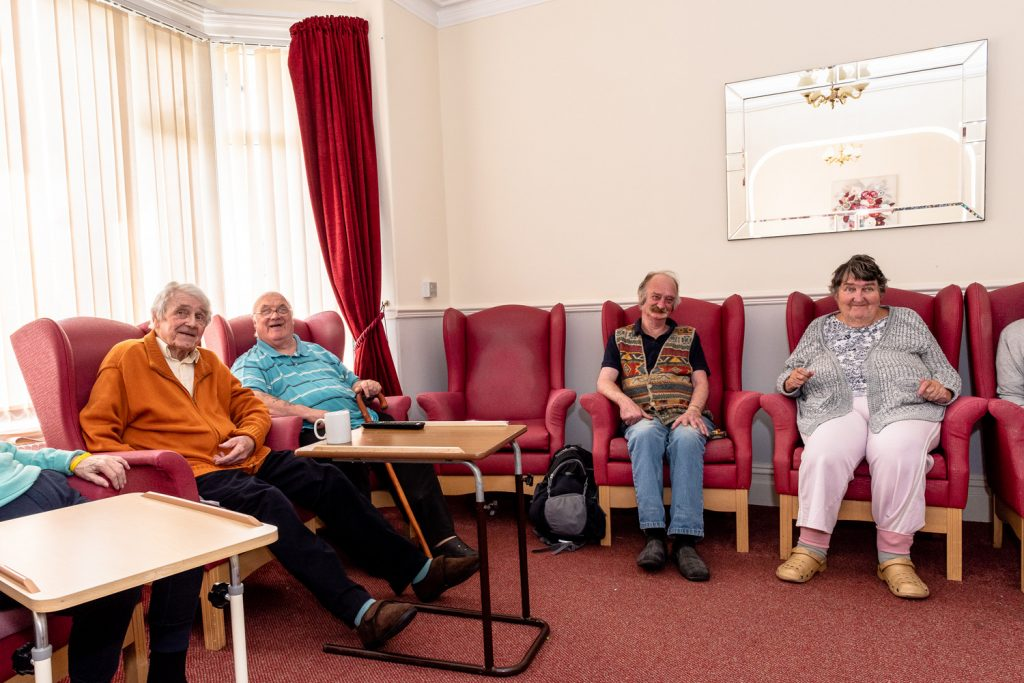 Residents Together at Rhoslan