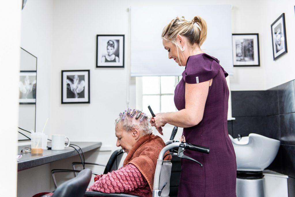 Personal Hairdresser at Bryn Yr Haul